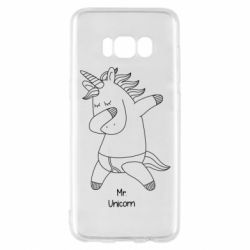 Чехол для Samsung S8 Mr Unicorn