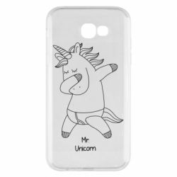 Чехол для Samsung A7 2017 Mr Unicorn