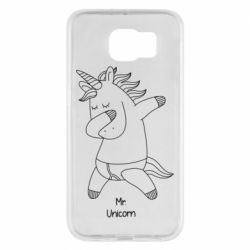 Чехол для Samsung S6 Mr Unicorn