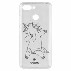 Чехол для Xiaomi Redmi 6 Mr Unicorn