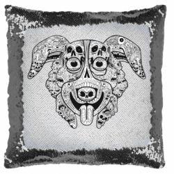 Подушка-хамелеон Mr. Pickles Art
