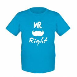 Дитяча футболка Mr. right