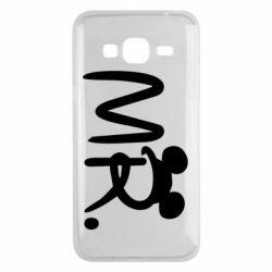 Чохол для Samsung J3 2016 Mr.