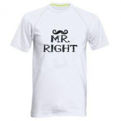 Мужская спортивная футболка Mr