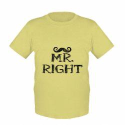Детская футболка Mr