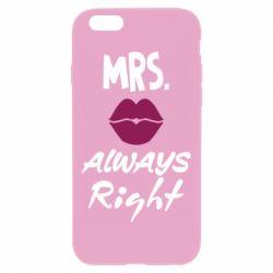 Чохол для iPhone 6 Plus/6S Plus Mrs. always right