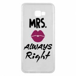 Чохол для Samsung J4 Plus 2018 Mrs. always right
