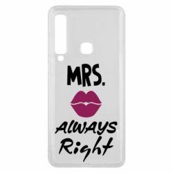 Чохол для Samsung A9 2018 Mrs. always right