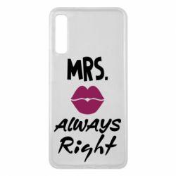 Чохол для Samsung A7 2018 Mrs. always right