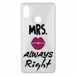 Чохол для Xiaomi Mi Max 3 Mrs. always right