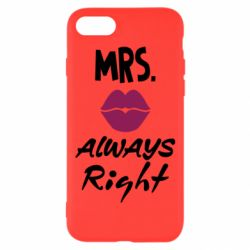 Чохол для iPhone 8 Mrs. always right