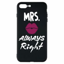Чохол для iPhone 8 Plus Mrs. always right