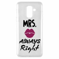 Чохол для Samsung A6+ 2018 Mrs. always right