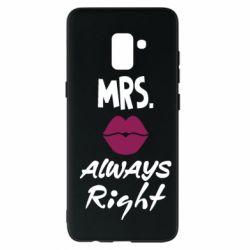 Чохол для Samsung A8+ 2018 Mrs. always right