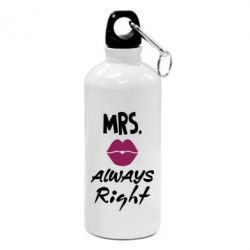 Фляга Mrs. always right