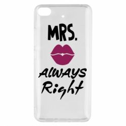 Чохол для Xiaomi Mi 5s Mrs. always right