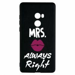 Чохол для Xiaomi Mi Mix 2 Mrs. always right