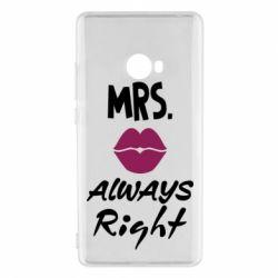 Чохол для Xiaomi Mi Note 2 Mrs. always right