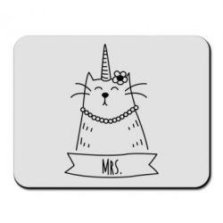 Коврик для мыши Mrs. Cat