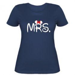 Женская футболка Mrs.