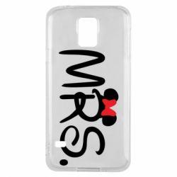 Чехол для Samsung S5 Mrs.