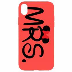 Чехол для iPhone XR Mrs.