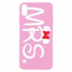 Чехол для iPhone X/Xs Mrs.