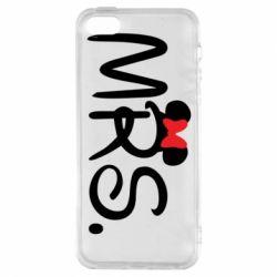 Чехол для iPhone5/5S/SE Mrs.
