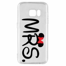 Чехол для Samsung S7 Mrs.