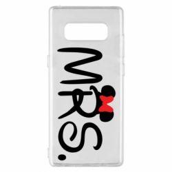 Чехол для Samsung Note 8 Mrs.