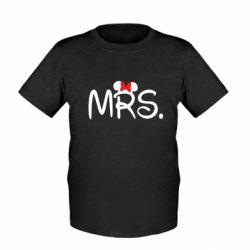 Детская футболка Mrs.