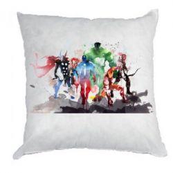 Подушка Мстители Арт