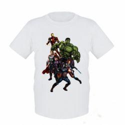 Детская футболка Мстители Фан Арт