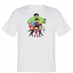 Мужская футболка Мститети в сборе