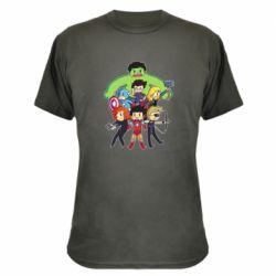 Камуфляжная футболка Мститети в сборе