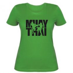 Жіноча футболка Муай Тай