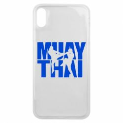 Чехол для iPhone Xs Max Муай Тай