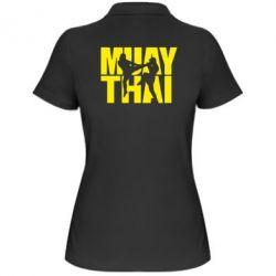 Женская футболка поло Муай Тай - FatLine