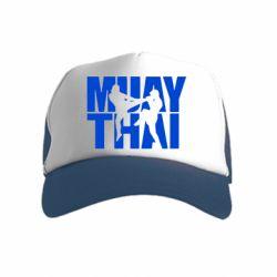 Детская кепка-тракер Муай Тай