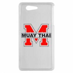 Чехол для Sony Xperia Z3 mini Muay Thai Big M - FatLine