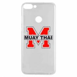 Чехол для Huawei P Smart Muay Thai Big M - FatLine
