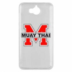 Чехол для Huawei Y5 2017 Muay Thai Big M - FatLine