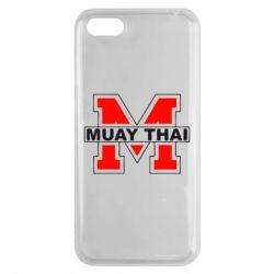 Чехол для Huawei Y5 2018 Muay Thai Big M - FatLine