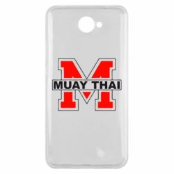 Чехол для Huawei Y7 2017 Muay Thai Big M - FatLine
