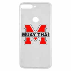 Чехол для Huawei Y7 Prime 2018 Muay Thai Big M - FatLine