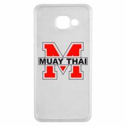 Чехол для Samsung A3 2016 Muay Thai Big M - FatLine