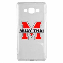Чехол для Samsung A5 2015 Muay Thai Big M - FatLine