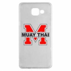 Чехол для Samsung A5 2016 Muay Thai Big M - FatLine