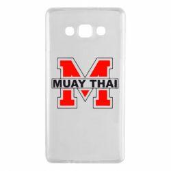 Чехол для Samsung A7 2015 Muay Thai Big M - FatLine