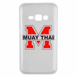 Чехол для Samsung J1 2016 Muay Thai Big M - FatLine